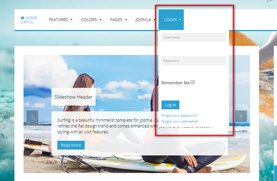How to create a drop-down menu for your joomla 3 website.