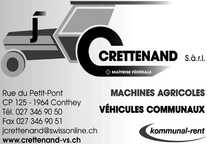 Crettenand Machines Agricoles